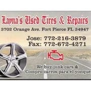Layna's Used Tires and Repair